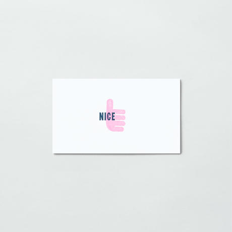 ONE WORD CARD (3PCS)