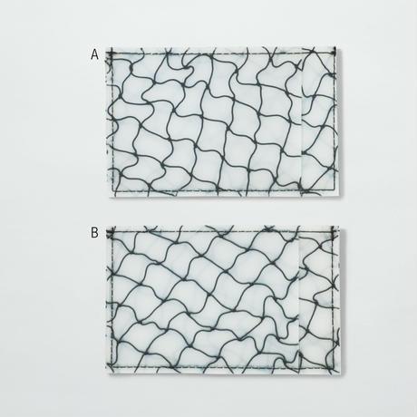 LUISA CEVESE〈CARD CASE_FISHNET BLACK/S〉(2TYPES)