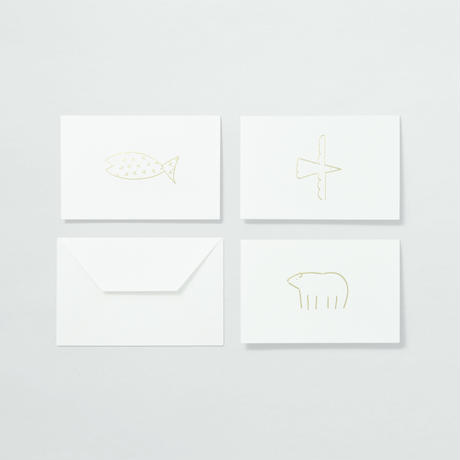 PAPIER LABO.〈ANIMAL CARD〉