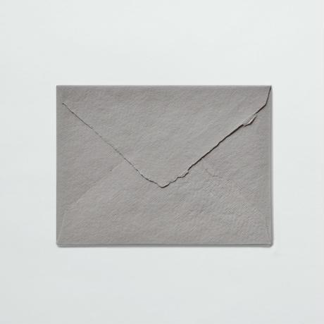 INDIA HANDMADE COTTON PAPER 〈ENVELOPE〉(5COLORS/3PCS)