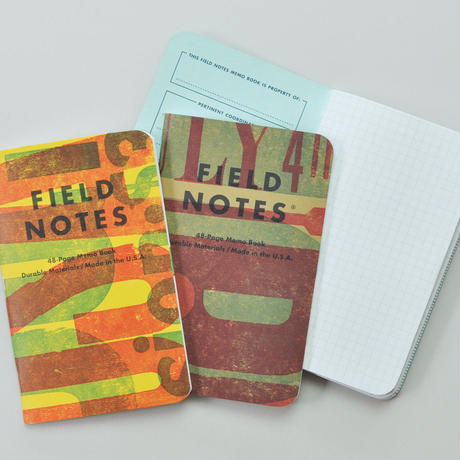 "FIELD NOTES special edition ""Tow Rivers"""