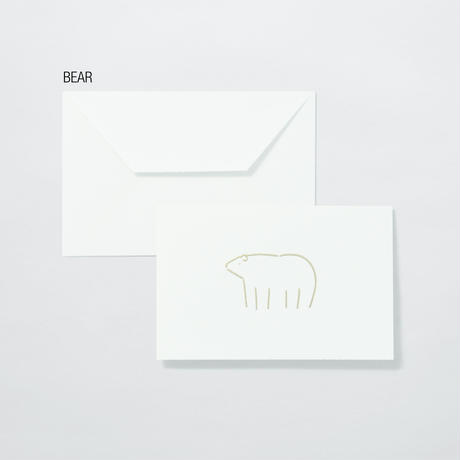 PAPIER LABO.〈ANIMAL CARD〉