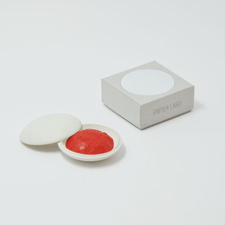PAPIER LABO. RED INK PAD(White)