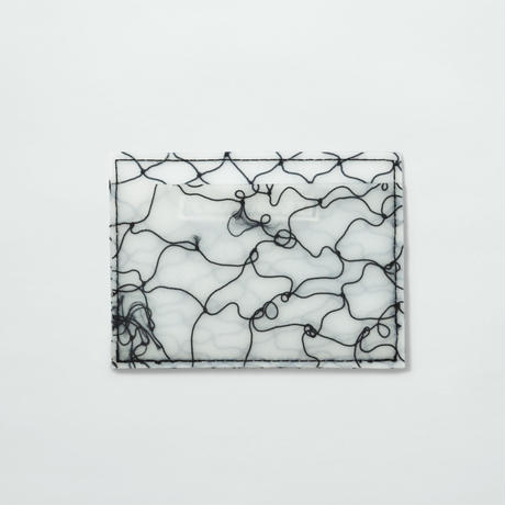 LUISA CEVESE〈CARD CASE_FISHNET BLACK/L〉