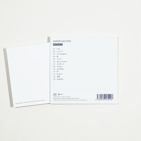 SUPER EXCITED(LIVE ALBUM)- ペトロールズ  /  ENCD-47【AUDIO CD】