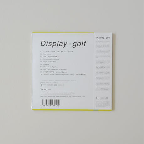 Display - golf / ENCD-25【AUDIO CD】