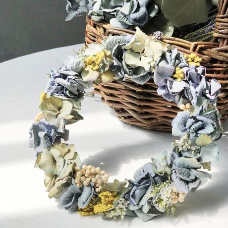 あじさい・ドライリース【wreath】