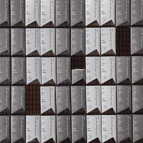 タブレットショコラ4枚詰合せ