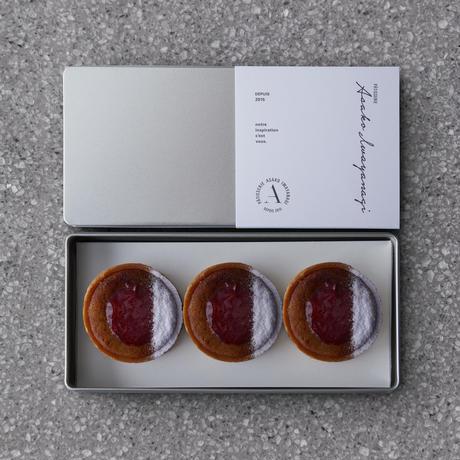延楽梅花堂 杉田梅と甲州市塩山すもも のコンフィチュールタルト 6個缶入り