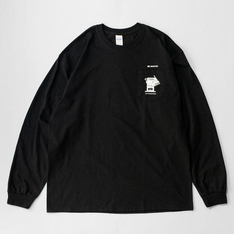 180 Atomosphere  L/S tee (Black)