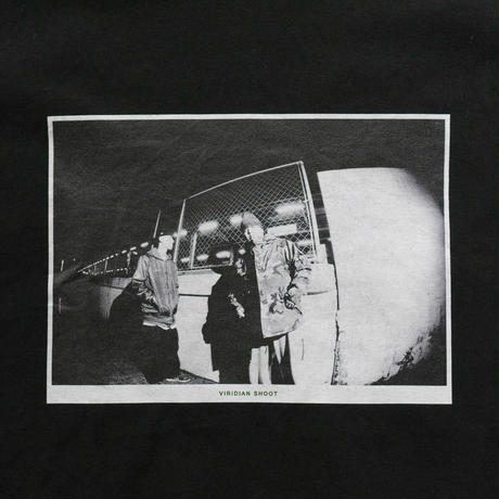 VIRIDIAN SHOOT tee (Black)