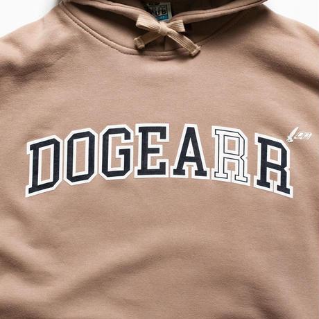 Dogear Records Hoodie  Khaki (White × Navy)