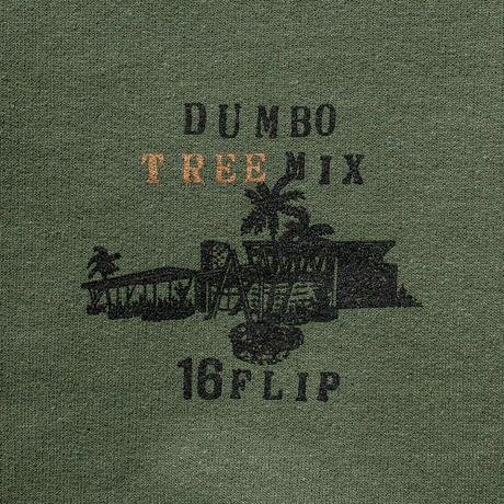 16FLIP TREE SWEAT (khaki green)