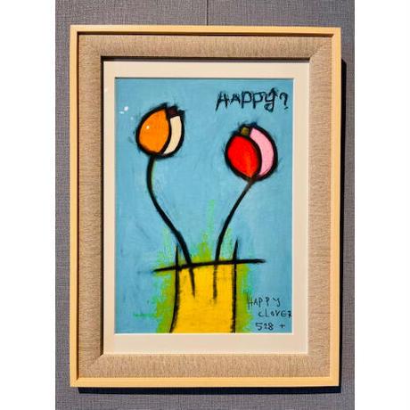 ジクレー版画「チューリップ」(2003年)