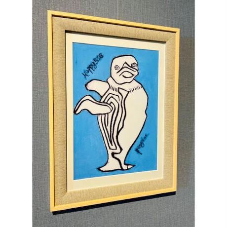 ジクレー版画「ペンギン」(2002年)