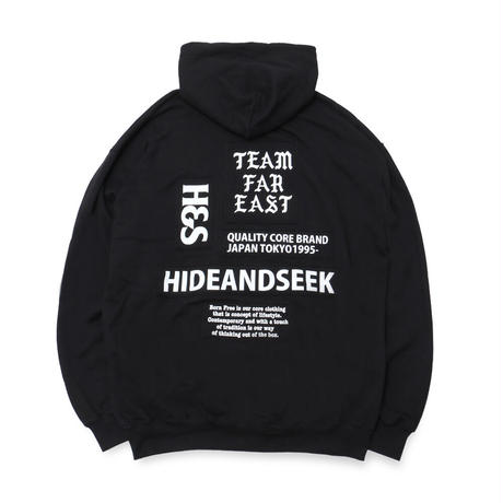 Patch Sweat Hooded