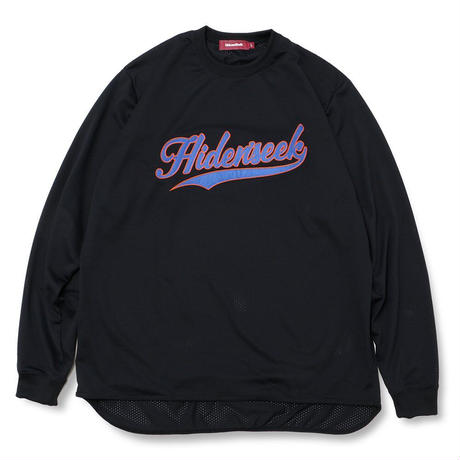Mesh Baseball L/S Shirt
