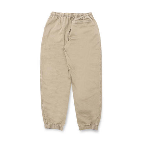 Washed Twill Track Pant