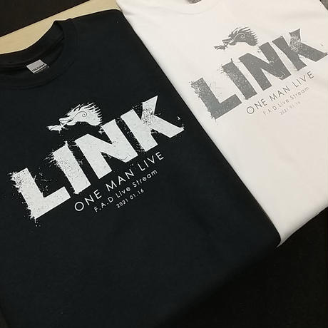 LINKxFAD Tシャツ (ホワイト)