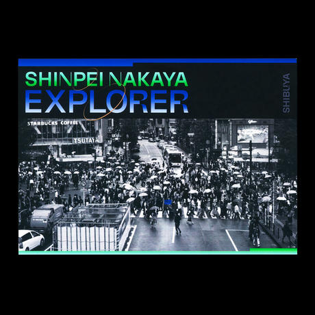 "EXPLORER ""SHIBUYA"": 5 POSTCARDS -Shinpei Nakaya"