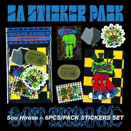 ZA STICKER PACK - Sou Hirose