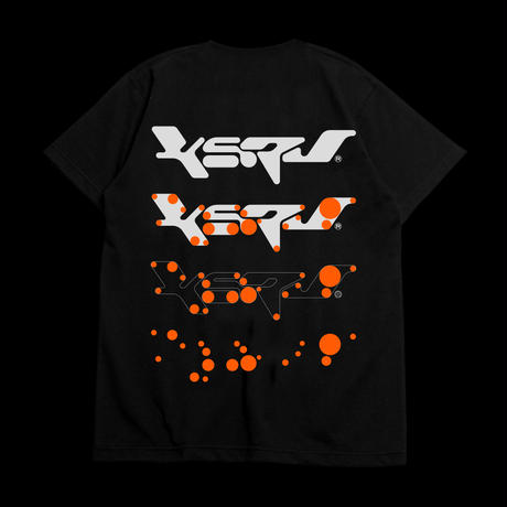 "KERV logo tee 02 ""NEON ORANGE"" - GUCCIMAZE"