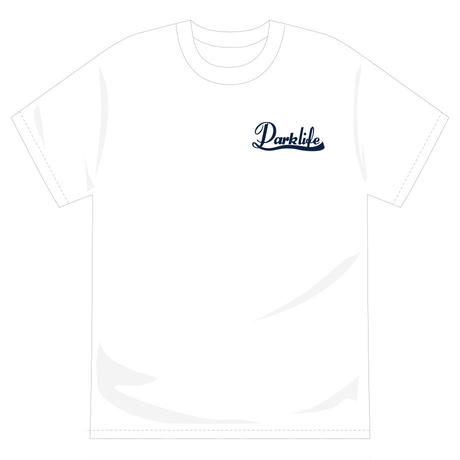 PARKLIFE   葉っぱロゴTシャツ(ホワイト)