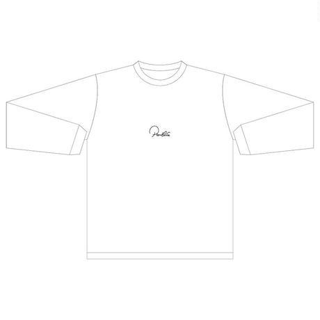 PARKLIFE   ゴロネコ Tシャツ(ロングスリーブ)(ホワイト)