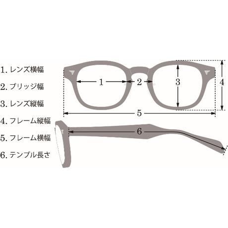 老眼鏡  COM-510A BNT (101-1  ダークデミレッドⅡ- ゴールド)