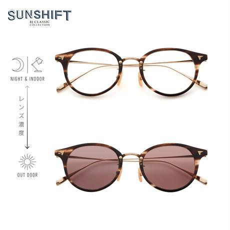 SUNSHIFT® / S-C510N  30-1 クロササ-ゴールド(SUNSHIFT®レンズ:クリア⇄ブラウン)