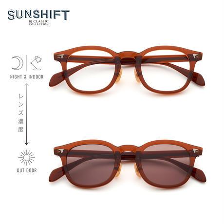 SUNSHIFT® / S-P551  3 ビールブラウン(SUNSHIFT®レンズ:クリア⇄ブラウン)
