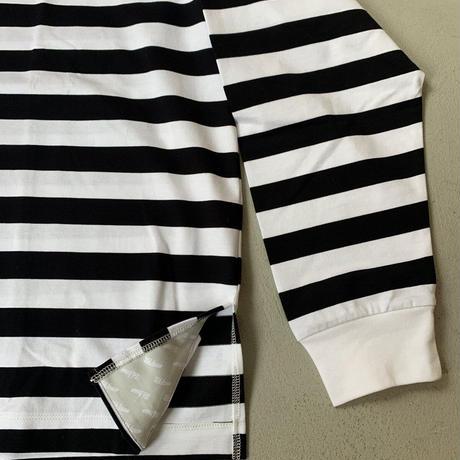 【Et baas BORDER L/S TEE】ボーダーロングスリーブTシャツ (全4種選択)