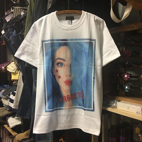 (ラルテ)RARETE Blue Hair GIRL 半袖 Tシャツ(SPEND/RUDE/スペンド/ルード風)