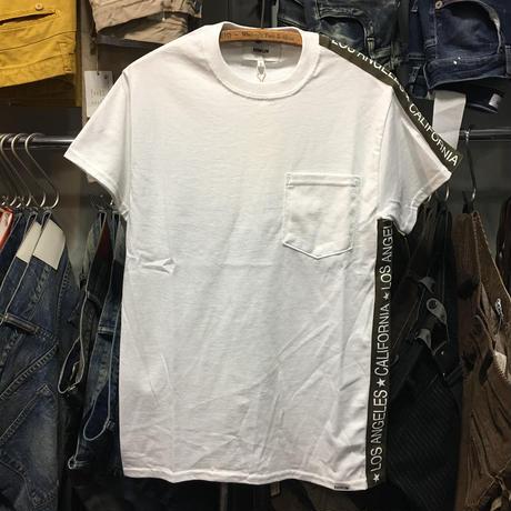 (イーブンフロウ)EVENFLOW LA-CA LINE ラインTシャツ (EF-901-WH)
