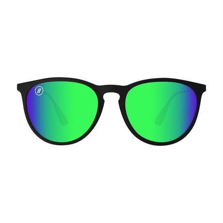 (ブレンダーズ アイウェア) BLENDERS EYEWEAR サングラス BLACK MARTINI North Park/Green Mirrored Polarized(偏光レンズ)