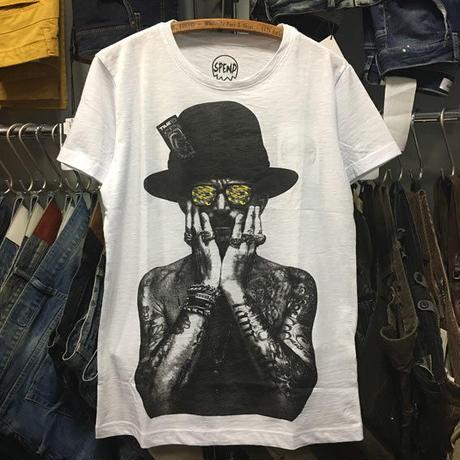 (スペンド)SPEND MR.G Tシャツ (SPEND-MR-G-WH)