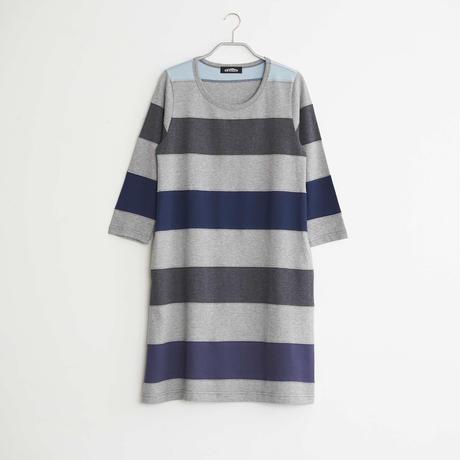 8分袖ワンピース / レディースL / NO.8