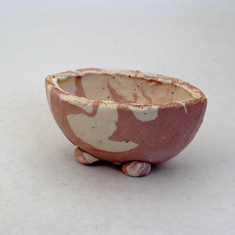 陶器製 多目的自由な植木鉢 CVc-ミカゲ-8835ピンク