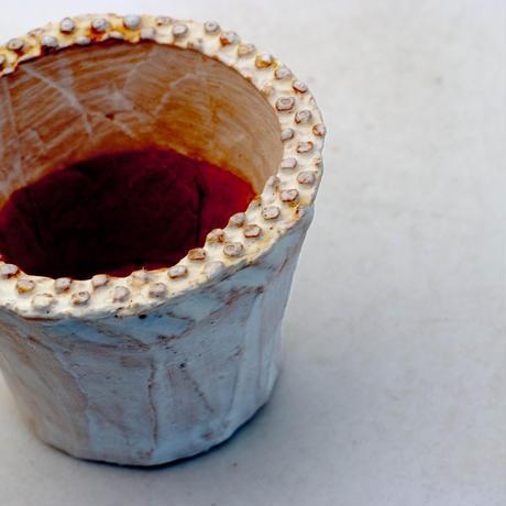 陶器製(2.5号ポット相当)多肉植物の欲しがる植木鉢 SMS-8915