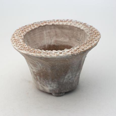 陶器製 多肉植物の欲しがる植木鉢 IBMd-9065