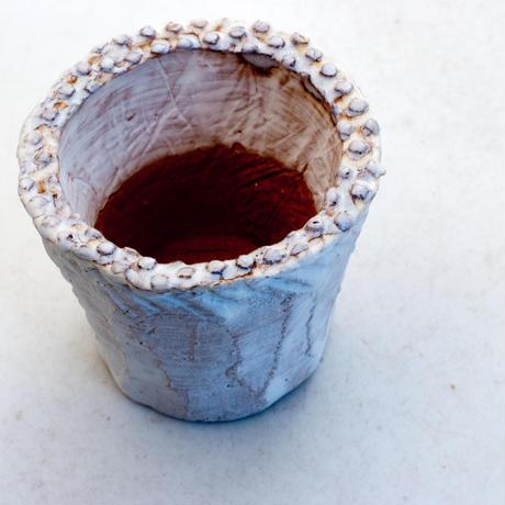 陶器製(2号ポット相当)多肉植物の欲しがる植木鉢 NSSS-7096