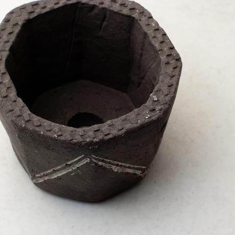 陶器製(2号ポット相当)植木鉢  KESc-ミカゲ-6629