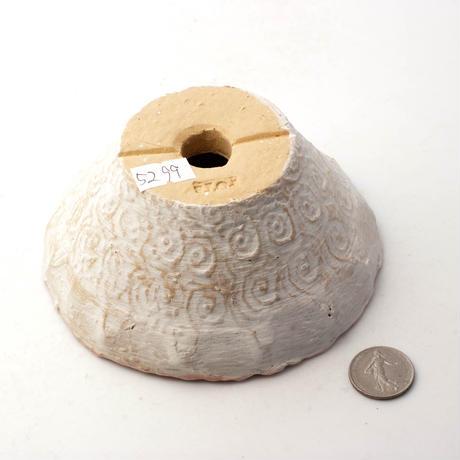 陶器製 多肉植物の欲しがる植木鉢 QQc-5299ピンク