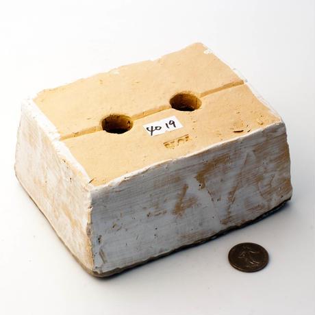 陶器製 多肉植物の欲しがる植木鉢 AES(II)c-4019グリーン