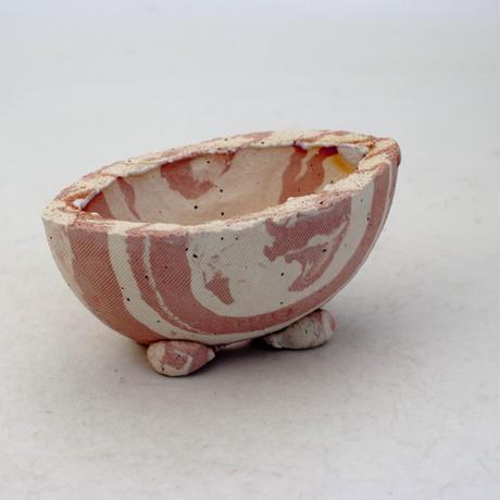 陶器製 多目的自由な植木鉢 CVc-ミカゲ-8832ピンク
