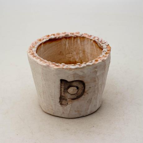 陶器製(2号ポット相当)多肉植物の欲しがる植木鉢 PSc-8660ピンク