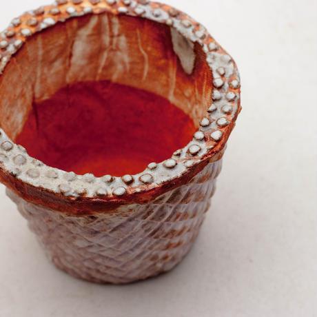 陶器製(2.5号ポット相当)多肉植物の欲しがる植木鉢 SMSc- 9171パープル