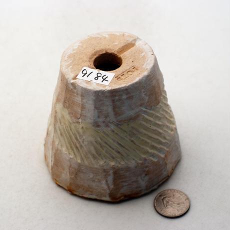陶器製(2.5号ポット相当)多肉植物の欲しがる植木鉢 NSSc-9184イエロー