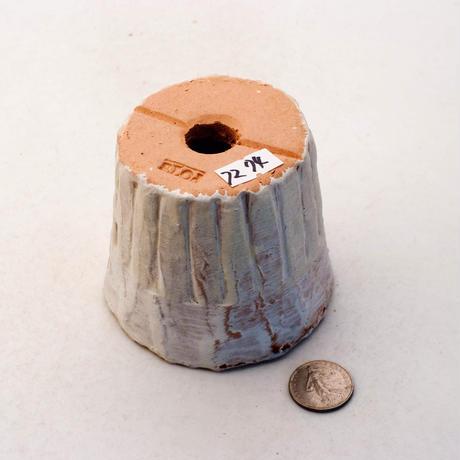 陶器製(2号ポット相当)多肉植物の欲しがる植木鉢 SSSc-7274イエロー