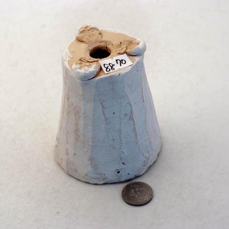 陶器製(2号ポット相当)多肉植物の欲しがる植木鉢 AAMh-8870